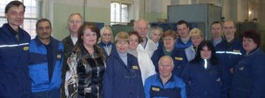 Group photo of the Raketa team
